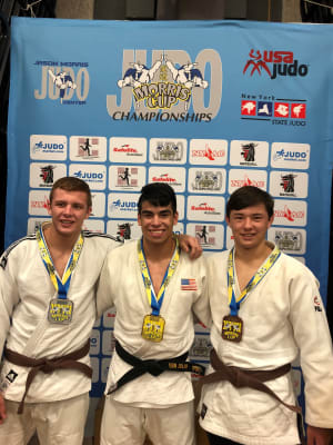 Brunt Hills, NY October 13, 2019 - Three Pompton Lakes Residents Win Gold and Silver At Morris Judo Cup