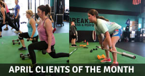Put Your Hands Together For Our April Clients Of The Month