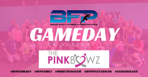 BFP Gameday For Pink Bowz
