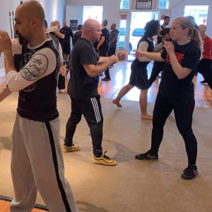 Chinese Boxing with Ismet Himmet & JB Jaeger (Kickboxing in Odenton, Maryland)