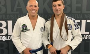 Like Father Like Son. Royce Gracie promotes his son to black belt