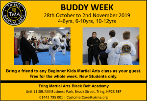 Buddy Week is Back! 28th Oct