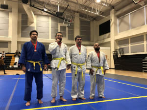 Team North Jersey Judo Compete At Fall Promotional For Novice and Brown Belt Points