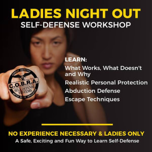 Announcing Our COBRA Self Defense Ladies Night Out