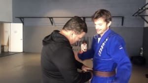 Ashton Kutcher earns Machado BJJ Brown belt