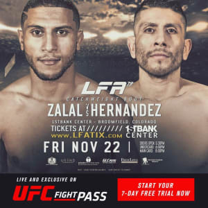FIGHT ANNOUNCEMENT FOR YOUSSEF ZALAL!