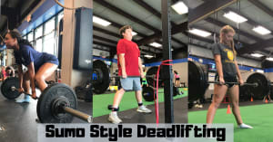 Sumo Style Deadlifting