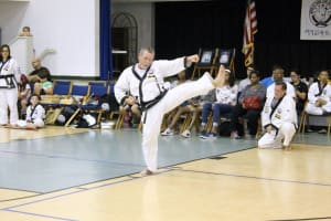 Practicing your martial arts!!!
