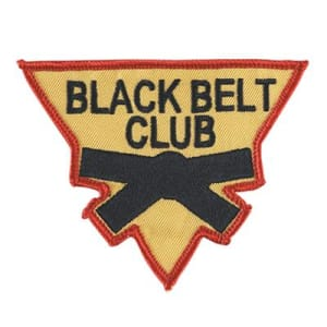 Youth Black Belt Club - What is it and how do I join?