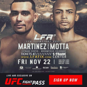 GEORGE MARTINEZ FIGHT ANNOUNCEMENT!