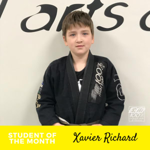 Meet Future Black Belt - Xavier Richard