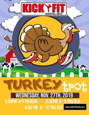 Turkey Trot for Kids in Cooper City / Davie / Hollywood / Pembroke Pines
