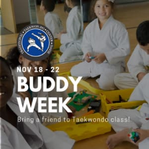 Bring a Friend to Class - Buddy Week!