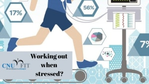 Milford Personal Trainer: Should you workout when stressed?