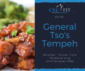 Recipe: General Tso's Tempeh