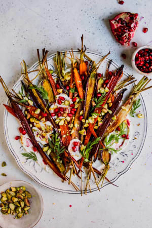 Healthy Holiday Recipe: Warm Carrot and Pomegranate Salad