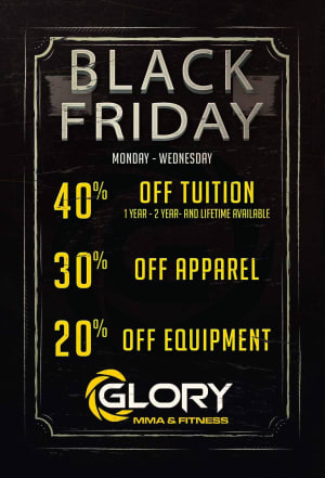 Black Friday Week Specials!!!