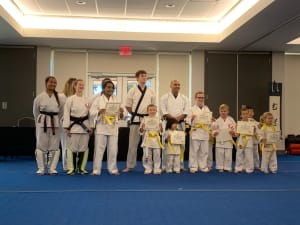 Karate Color Belt Testing on Saturday, Dec 14th.