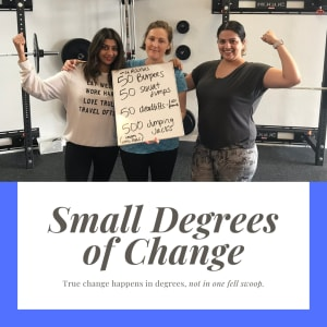 Small Degrees of Change