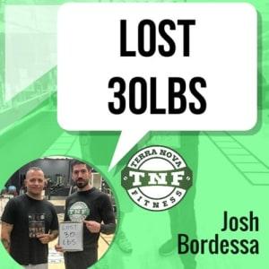 Josh Lost 30lbs