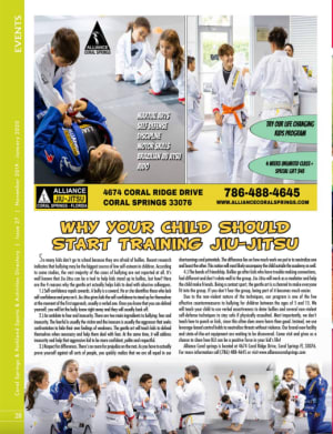 Why Your Kid Should Train Brazilian Jiu Jitsu in Coral Springs