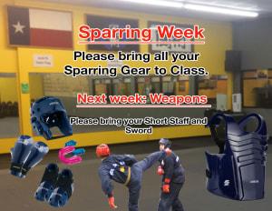 SPARRING WEEK