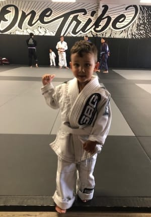 SBG Buford's Kids Martial Arts Athlete of the Month is Blake Rodriguez