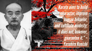 Karate Aims to Build Character