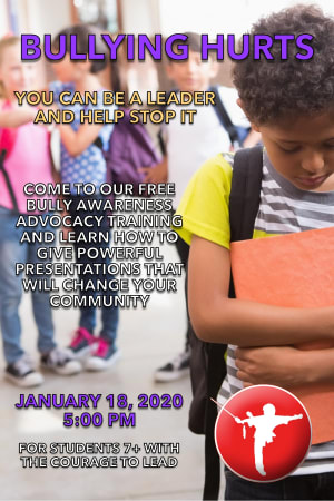 Ready to Help Us Put an End to Bullying?