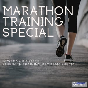 Marathon Training Special