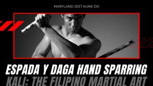 Espada y Daga Hand Sparring (Kali Filipino Martial Arts Severn Maryland)