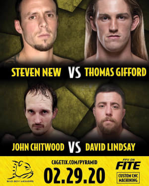 THOMAS GIFFORD FIGHT ANNOUNCEMENT