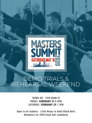 Masters Summit Demonstration Team