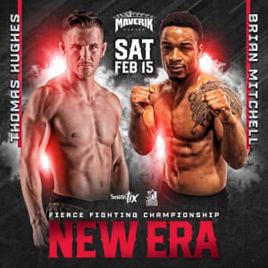 BRIAN MITCHELL FIGHT ANNOUNCEMENT