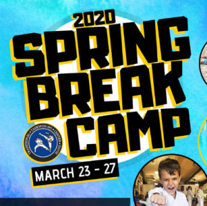 Join our 2020 Spring Break Camp Today!