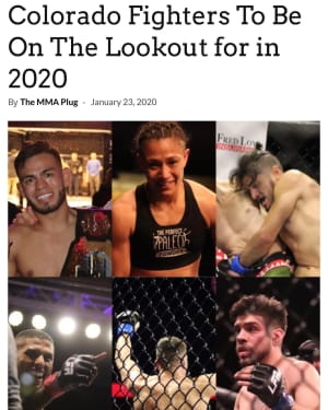 COLORADO FIGHTERS TO WATCH!
