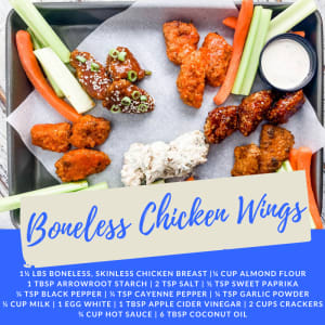 Recipe of the Week: Boneless Chicken Wings