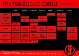 Schedule Updates