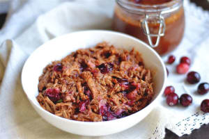 Recipe: Instant Pot Cranberry Pulled Pork