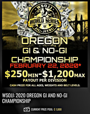 The World Series of Jiu Jitsu is coming back!