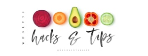 Try This Instead of That (3 Diet Hacks that work!)