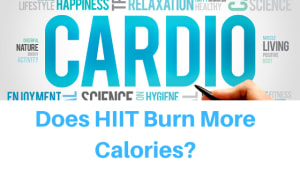 Does HIIT Cardio Burn More Calories? (4 min read)