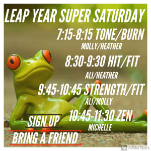 Leap Year Super Saturday