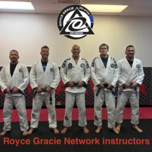 Royce Gracie in the UK