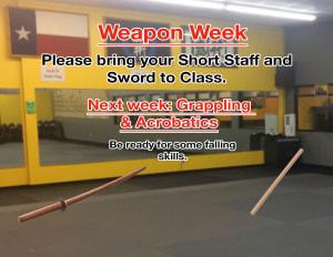 WEAPONS WEEK (LONG STAFF & JOOL BONG)