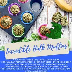 Recipe of the Week: Incredible Hulk Muffins