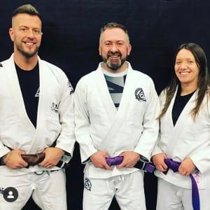 Training Royce Gracie Jiu Jitsu in Wales