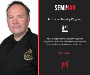 Shihan Chris Allen Guest Speaker at UK Martial Art School Owner Summit 2020