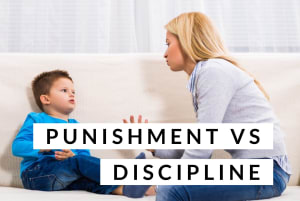 The Difference Between Punishment and Discipline