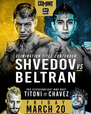 FIGHT ANNOUNCEMENT FOR GENO SHVEDOV!